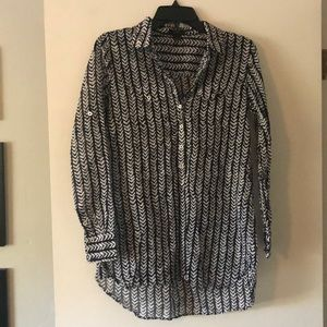 J. Crew Women's  Button Tunic